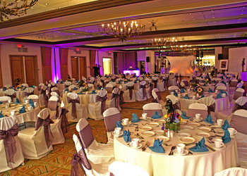 atrium hotel wedding reception ceremony venue irvine